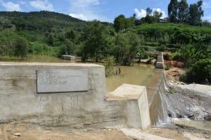 The Water Project: Nduumoni Community -  Complete Dam