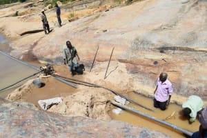 The Water Project: Nduumoni Community A -  Preparing For Dam Construction