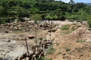 The Water Project: Nduumoni Community A -  Trenching