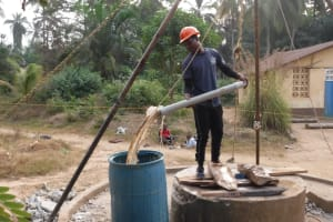 The Water Project: Lungi, Rosint, #26 Old Town Road -  Bailing