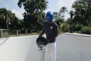 The Water Project: Lungi, Rosint, #26 Old Town Road -  Chlorination