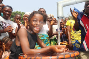 The Water Project: Lungi, Rosint, #26 Old Town Road -  Kid Happy Drinking Safe And Pure Water