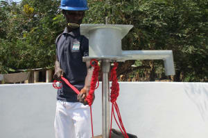 The Water Project: Lungi, Rosint, #26 Old Town Road -  Pump Installation