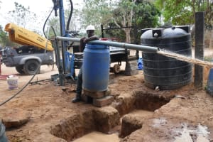 The Water Project: Lungi, Madina, St. Mary's Junior Secondary School -  Bailing