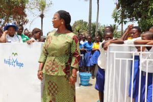 The Water Project: Lungi, Madina, St. Mary's Junior Secondary School -  School Principal Madam Mevinal E Sumanna