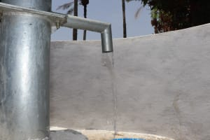 The Water Project: Lungi, Madina, St. Mary's Junior Secondary School -  Clean Water Flowing