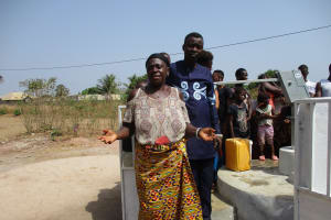 The Water Project: Lungi, Thomossoh, #24 Thullah Street -  Isata Kamara