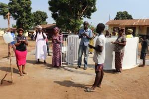 The Water Project: Lungi, Kingsway, 139 Kingsway Quarter -  Community Members Praying