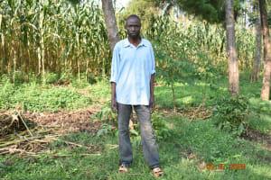 The Water Project: Munenga Community, Burudi Spring -  Silas Burudi