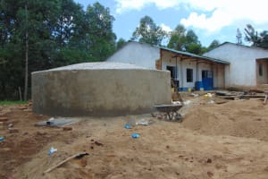 The Water Project: Mutiva Primary School -  Dome Construction