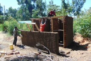 The Water Project: Mutiva Primary School -  Roofing Of The Latrines