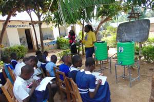 The Water Project: Mutiva Primary School -  Facilitator Laura Alulu Heads Training