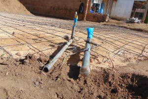 The Water Project: Mutiva Primary School -  Drainage And Tap System Set