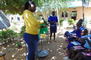 The Water Project: Mutiva Primary School -  Training On Handwashing