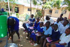 The Water Project: Mutiva Primary School -  Demonstration Of Handwashing