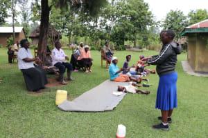The Water Project: Mahira Community, Litinyi Spring -  Handwashing Training