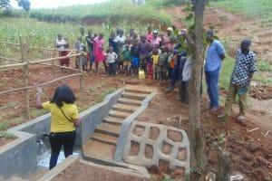 The Water Project: Ewamakhumbi Community, Mukungu Spring -  Site Management Training