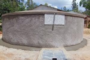 The Water Project: Mutiva Primary School -  Complete Rain Tank