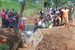 The Water Project: Ewamakhumbi Community, Mukungu Spring -  Group Photo After Training