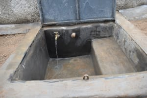 The Water Project: Mutiva Primary School -  Drawing Point With Flowing Water