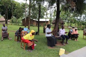 The Water Project: Mahira Community, Litinyi Spring -  Training On Handwashing
