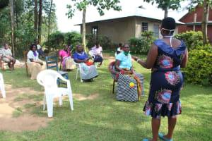The Water Project: Bukhunyilu Community, Solomon Wangula Spring -  Ongoing Sensitization Training