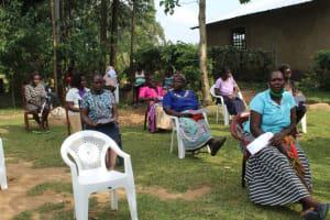 The Water Project: Bukhunyilu Community, Solomon Wangula Spring -  Participants