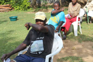 The Water Project: Bukhunyilu Community, Solomon Wangula Spring -  Reduce Spread Of Virus By Coughing In Elbow