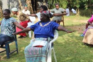 The Water Project: Bukhunyilu Community, Solomon Wangula Spring -  Social Distancing