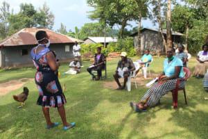 The Water Project: Bukhunyilu Community, Solomon Wangula Spring -  Training Session