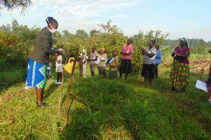 The Water Project: Shihingo Community, Mulambala Spring -  Handwashing Exercise