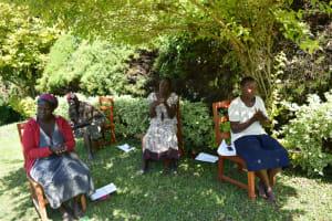 The Water Project: Ivulugulu Community, Ishangwela Spring -  Handwashing Demonstration
