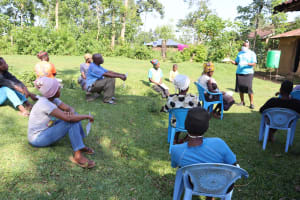 The Water Project: Musango Community, Dawi Spring -  Training In Session