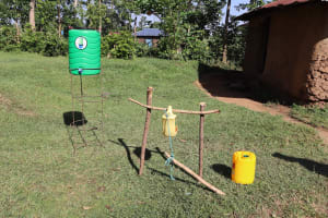 The Water Project: Musango Community, Dawi Spring -  Two Types Of Handwashing Stations