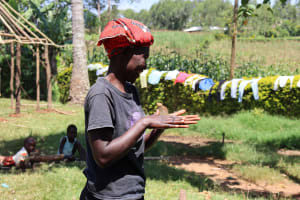 The Water Project: Mwituwa Community, Shikunyi Spring -  Clean Hands For All
