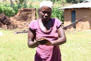 The Water Project: Mwituwa Community, Shikunyi Spring -  Keeping Coronavirus Away By Washing Hands