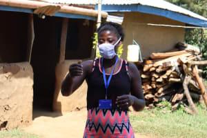The Water Project: Mwituwa Community, Nanjira Spring -  Facilitator Jemmimah Conducting Sensitization Training