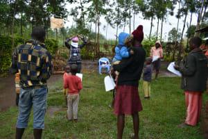 The Water Project: Burachu B Community, Shitende Spring -  Mask Making