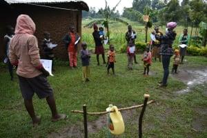 The Water Project: Burachu B Community, Shitende Spring -  Ongoing Sensitization Training