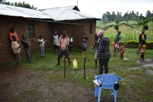 The Water Project: Burachu B Community, Shitende Spring -  Training Session