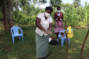 The Water Project: Ataku Community, Ataku Spring -  Clean Hands For All