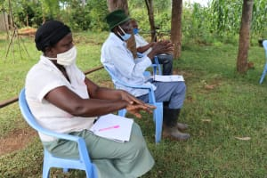 The Water Project: Ataku Community, Ataku Spring -  Closely Following The Ten Steps Of Handwashing