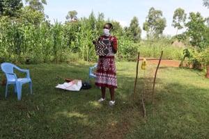The Water Project: Ataku Community, Ataku Spring -  Mask Making