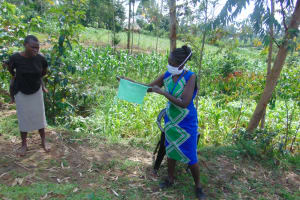 The Water Project: Handidi Community, Chisembe Spring -  A Complete Mask
