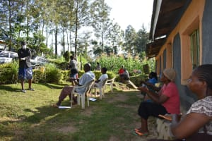 The Water Project: Esembe Community, Chera Spring -  Handwashing Exercise