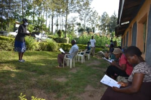 The Water Project: Esembe Community, Chera Spring -  Training In Session