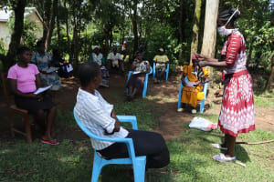 The Water Project: Musiachi Community, Thomas Spring -  Mask Making