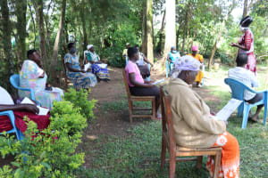 The Water Project: Musiachi Community, Thomas Spring -  Training In Session