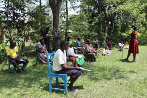 The Water Project: Muyundi Community, Baraza Spring -  Training In Session