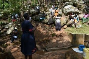 The Water Project: Upper Visiru Community, Wambosani Spring -  Training Session
